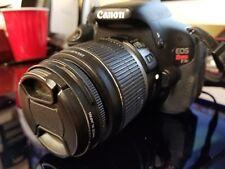 Canon EOS Rebel T3i Digital SLR Camera W/ 18-55mm EFS Lens