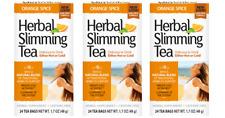 21st Century Herbal Slimming Tea Orange Spice 24 Bags Pack of 3 (72 bags total)