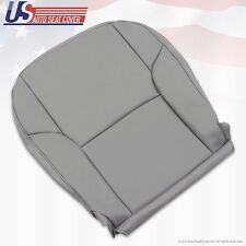 2003-2009 Toyota 4Runner Limited Passenger Bottom Vinyl Leather Seat Cover Gray