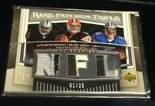 HUGE (100) SERIAL #1 NFL JERSEY &  AUTO LOT - EVERY CARD IS MACHINE STAMPED #1!!