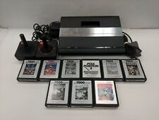 Atari 7800 Non-Powering Console With Games - Buying As-Is
