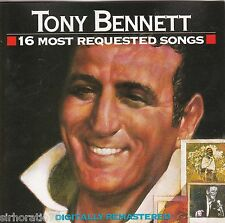 TONY BENNETT 16 Most Requested Songs CD