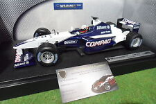 F1 WILLIAMS BMW FW23 Montoya 2001 au 1/18 HOT WHEELS 50201 formule 1 voiture