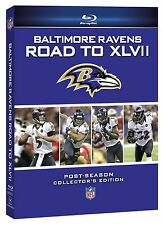 NFL Baltimore Ravens - Road to Super Bowl XLVII 47 2er [Blu-ray] NEU Region Free