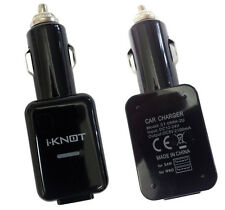 Genuine iKnot Dual Usb Car Charger Cigarette Lighter For iPad 2, iPad 3 ,iPad 4