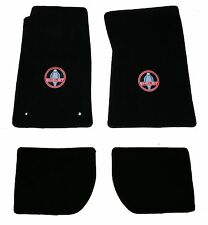 LLOYD MATS Heavy Plush 4PC FLOOR MAT SET fits 1965 to 1973 Shelby Fastback Coupe