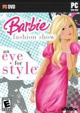 Barbie Fashion Show An Eye For Style PC Games Windows 10 8 7 XP Computer kid