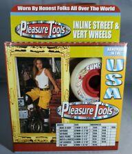 Pleasure Tools Inline Street & Vert Wheels Ball Peins 67mm 80A Vintage 1995 Misb