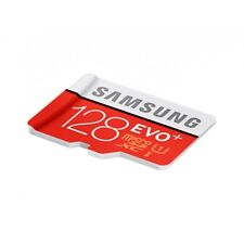 Samsung EVO Plus 128 Go Micro SD SDXC class 10 Avec Adaptateur (neuf)