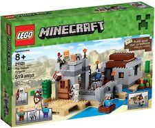 LEGO Minecraft 21121 BNIB the Desert Outpost Alex Steve Wolf