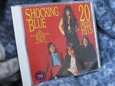 "SHOCKING BLUE ""20 GREATEST HITS"" CD PINK ELEPHANT GERMAN IMPORT"