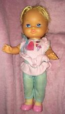 Vintage 1988 Lil Miss Makeup Doll Mattel w/ Dress Up Clothes Outfit Skirt