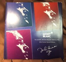 Montblanc Retailers' Signage John Lennon Special Edition 2010 ~ Pen Lovers