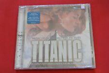 Titanic Motion Picture Soundtrack Celine Dion James Horner Promo Sticker CD NEW