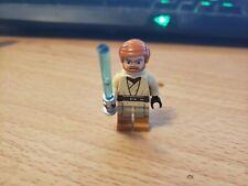 LEGO Star Wars Obi-Wan Kenobi Clone Wars Minifigure W/ Lightsaber