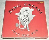 (7) VINYL LP's by BING CROSBY