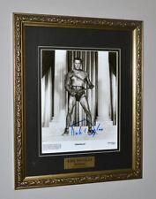 KIRK DOUGLAS Signed Autograph SPARTACUS, COA, UACC, DVD, FRAME - RIP
