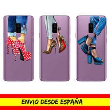 Funda Movil Cases Samsung / Zapatos Moda Fashion Tacones Dibujo Transparente