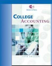 College Accounting : Chapters 1-10 by Robert W. Parry and James A. Heintz (2004,