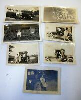 Estate Lot Vintage Antique Car Real Photographs