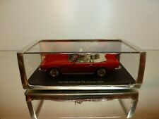 SPARK S0577 ASTON MARTIN V8 VOLANTE 1978 - RED 1:43 RARE - EXCELLENT IN BOX
