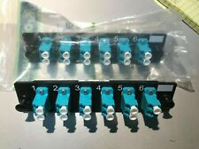 Or-Ofp-Lcd12Lc - Ortronics 6-Lc Duplex Adapter Panel, Aqua