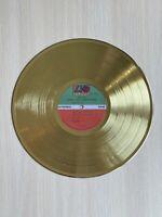 Crosby Stills Nash Young Deja Vu 1970 Gold Vinyl Record First Press Label
