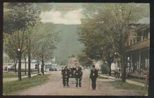 Postcard East Branch New York/Ny Commercial Area General Store 1907
