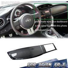 Fit For 12-16 Scion FR-S Interior Dashboard Radio Bezel Trim Carbon Fiber