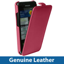 Pink Leather Case Cover for Samsung i9100 Galaxy S2 II Android Smartphone Holder