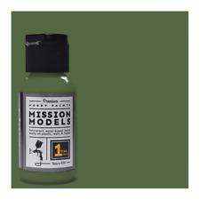 Mission Models #MMP-029 Russian Dark Olive 2 FS 34096 Acrylic Paint 1 oz. Bottle