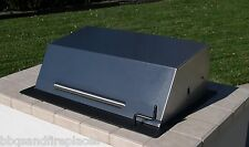 "EasyChef Charcoal Counter Top BBQ Grill 30"" -w/ Black Hood (Island not Included)"