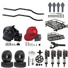 Remote Control/Winch/Roof Luggage Rack For 1:10 RC Rock Crawler Car Axial SCX10