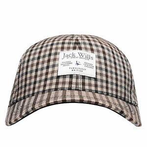 Jack Wills Womens Petworth Checked Cap Panel Design