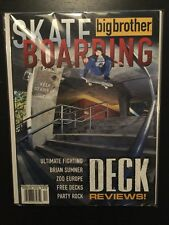 Big Brother Skateboard Magazine December 2000 Brian Sumner Birdhouse Adio