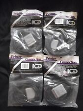 Lot of 4 SIO to Centronics Adapters Atari 400/800 and compatibles New Old Stock