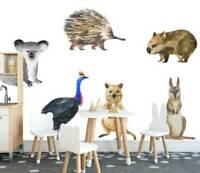 Australia OZ Animals Kids Wall Stickers Baby Room Cot Nursery Decal Decor Art