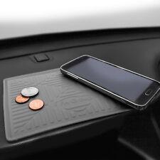 Silicone Dash Mat Anti-Slip Smartphone iPhone Galaxy Coin Grip  Gray for Auto
