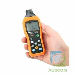 PEAKMETER PM6208B Digital Non-Contact Tachometer 50~9999RPM Revolution Meter