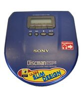 SONY DISCMAN D-E551 COMPACT CD PLAYER ESP2 WITH SHOCK PROTECTION.