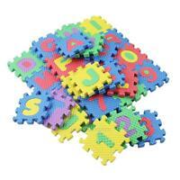 36PCS Tapis Puzzle Numéros Éveil en Mousse Jouet Jeu éducatif pour Bébé Enfants
