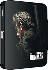 The Gunman BLURAY Action Steelbook OOP Limited Edition Sean Pennpierre Morel