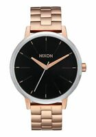 NIXON KENSINGTON ROSE GOLD SUNRAY 37MM Ladies Watch A099-2361-00  NEW! $175.00
