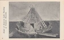 Taunton, Ma ~ Model Of A Somerset Lake (Native American) Dwelling ~ c1906