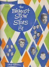 Biggest Show of Stars for '61 Program - Collectable - No Tears - See Pic
