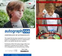 "JACOB TREMBLAY signed Autographed ""WONDER"" 8X10 PHOTO - EXACT PROOF - ACOA COA"