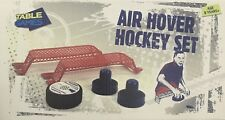 New Table Games Air Hover Hockey Set or Table Tennis Set Portable