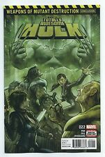 Totally Awesome Hulk 22 1st appearance Weapon H WMD Batch H Marvel 1st print