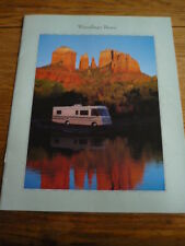 WINNEBAGO BRAVE MOTOR HOME BROCHURE