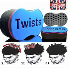 Barber Hair Magic Twist Sponge Brush Dreads Locking Coil Afro Curl Wave DIY T Zほ